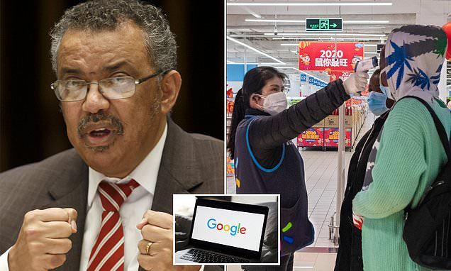 WHO working with Google to combat virus misinformation