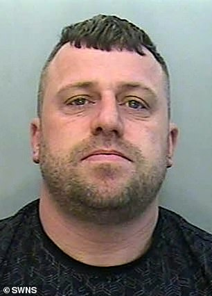 Ruthless enforcer John White. Brooks's half-brother and key laka 'Johnboy', was jailed for nine years.