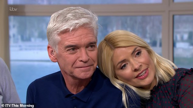 Emotional: An emotional Schofield discussed his decision to come out during Friday morning's show
