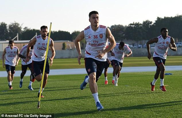 Keown's former club Arsenal are using the break to undergo warm weather training in Dubai
