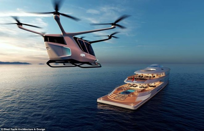 The boat was in a design concept when it was unveiled at the Monaco Boat Show, but Gates has now commissioned its build