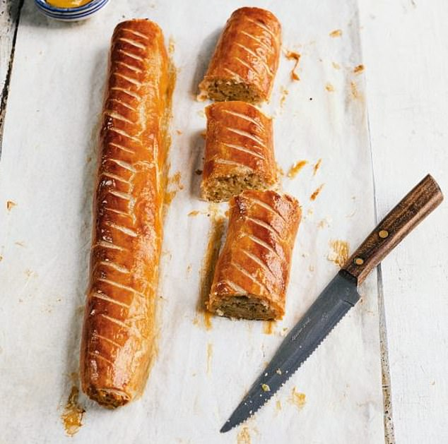 Leek and cheddar sausage rolls are easily frozen so they can be pulled out at a moments notice