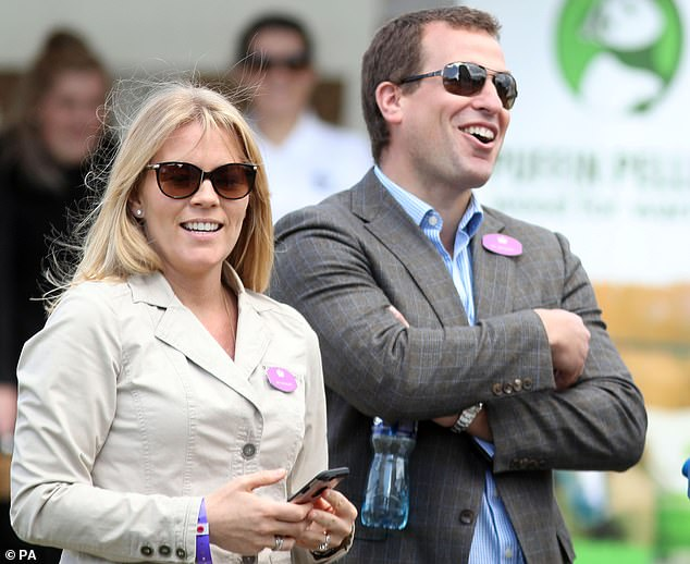 For the royals... There are always enough houses to go around, and the accumulated wealth ensures there¿s no shortage of cash for either party to pursue an independent lifestyle (Peter and Autumn Phillips, who also announced they are separating last week, are pictured)