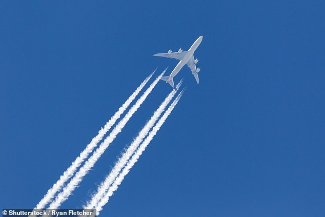 Researchers from Imperial College London tracked the particles than cause contrails - the white streams that billow out behind planes and criss-cross the sky - to find how air travel can avoid their formation as they are known to cause climate warming