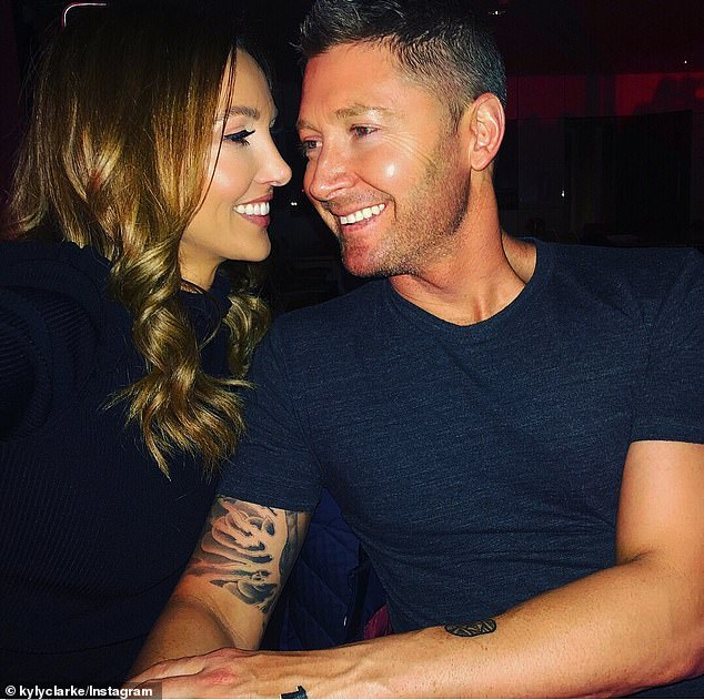 End of the road:Michael and Kyly separated at least five months before announcing their split