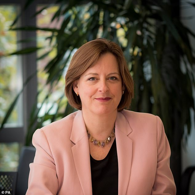 Ofcom's new chief executive, Dame Melanie Dawe (pictured yesterday) is a civil service mandarin hailed as a ¿diversity and inclusion champion¿ ¿ the very embodiment of political correctness