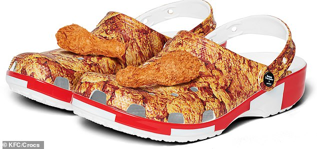 Cluckin' awesome! The Kentucky Fried Chicken x Crocs Classic Clog will retail for 59.99