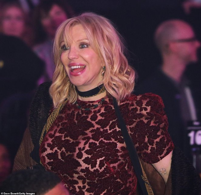 Winner:Courtney Love received the Icon Award at this year's NME Awards, following in the footsteps of previous recipient Shirley Manson