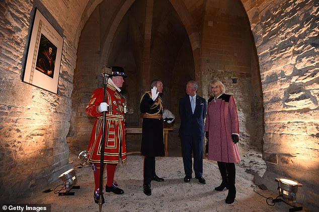 The royal visit was to mark 535 years since the creation of Yeoman Warders - a group of 37 men and women who have guarded the Tower of London since Tudor times