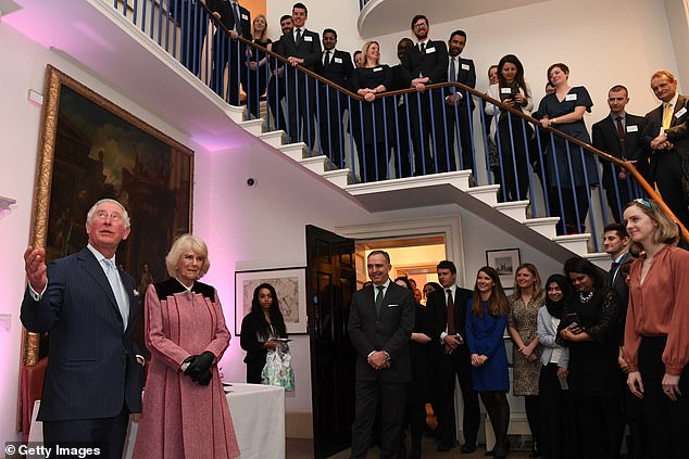 Their Royal Highnesses toured the Cabinet Office building to recognise the work it undertakes on behalf of the government