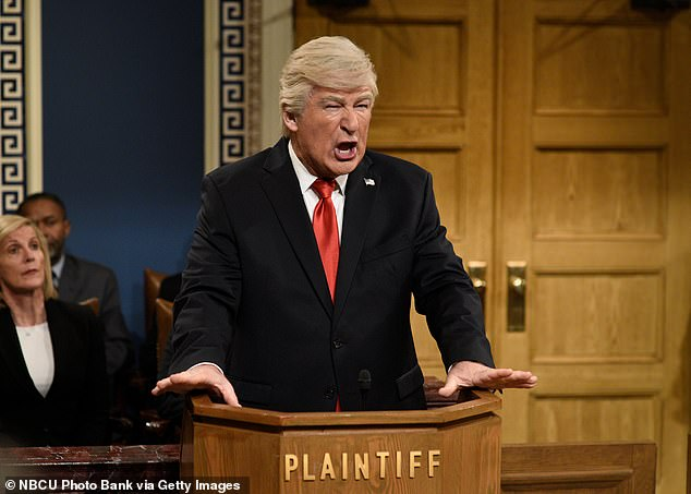 The 61-year-old actor is notorious for speaking out against the president and often portrays Trump on Saturday Night Live