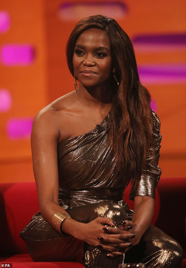 Drama: The fallout following the so-called nightcap saga has also reportedly sparked fears that Oti may quit Strictly (pictured on The Graham Norton Show on Friday)