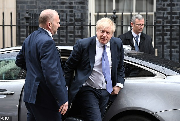 The Prime Minister (yesterday in Downing Street) is said to have originally planned to visit Washington last month following his election victory, before moving the trip to February