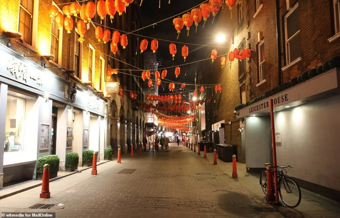 Pavements were almost bare and seats remained unfilled as public anxiety about the disease - that originated in Wuhan, China - grows