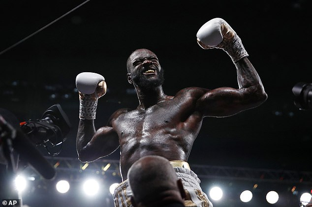 Wilder has admitted he could 'lash out' and use violence to help someone in trouble