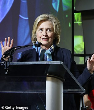 Hillary Clinton (above)