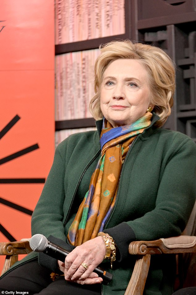Former first lady Clinton stopped short of denying she was considering running for vice-president alongside one of the Democratic candidates earlier this month