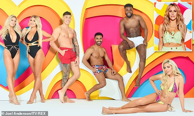 ITV have been plunged into crisis as talks over the future of Love Island continue (pictured above:Callum Jones, Leanne Amaning, Sophie Piper, Ollie Williams, Shaughna Phillips, Jess Gale, Eve Gale, Connor Durman, Nas Majeed, Mike Boateng, Paige Turley and Siannise Fudge 'Love Island' TV Show, Series 6, South Africa - Jan 2020)