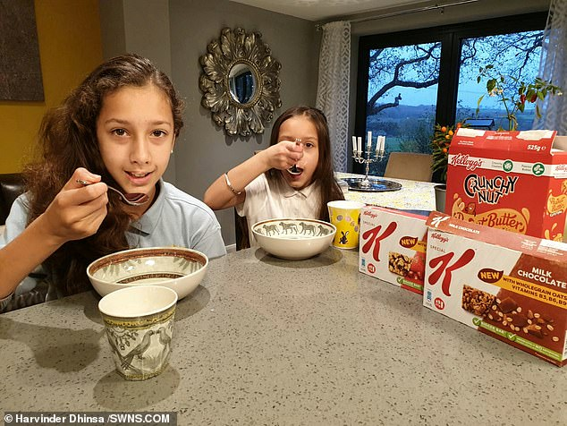 From humble beginnings, their petition gained more than 780,000 signatures and caught the eye of Kellogg's chiefs who invited the determined sisters to a meeting