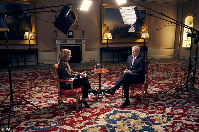 Andrew's much anticipated appearance on BBC's Newsnight to defend his reputation in the wake of the Epstein sex scandal, saw him admit the friendship with the disgraced financier 'gave him the opportunity to meet people'