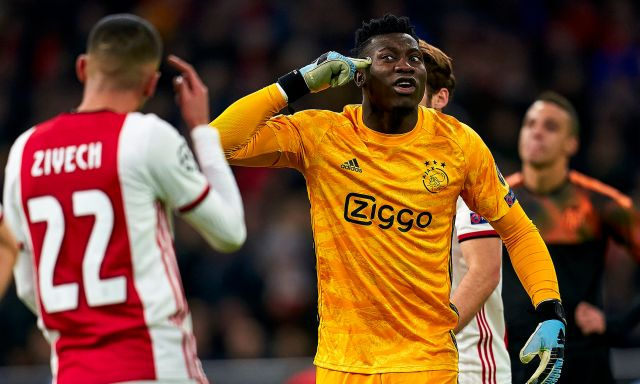 Barcelona 'join Chelsea in race to sign Ajax's Andre Onana' after ...