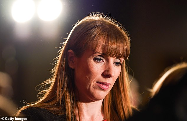 Angela Rayner, pictured at a hustings event in Durham on February 23, said Jeremy Corbyn 'didn't command respect'