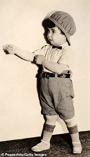 Baby Peggy, pictured in the early 1920s
