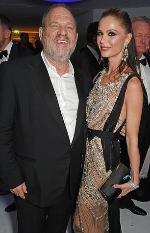 Weinstein and Chapman at the amfAR Gala Cannes 2017 at Hotel du Cap-Eden-Roc