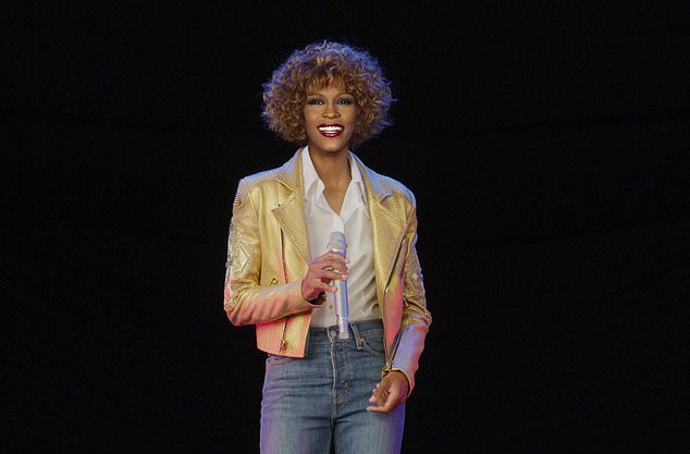 From my seat in the balcony, the Whitney hologram looks too much like a plasticised dolly for comfort, waving her arms as if communicating in sign language with some invisible ducks, writes JAN MOIR