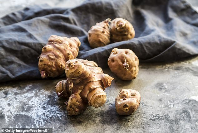 Similarly to chicory root, Jerusalem artichokes contain inulin, which helpsboost the immune system and balance blood glucose levels and blood pressure