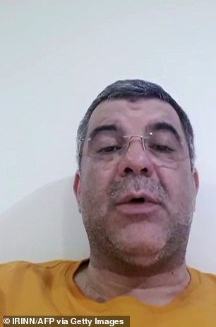 Iraj Harirchi was taken into quarantine yesterday in an embarrassment for the regime