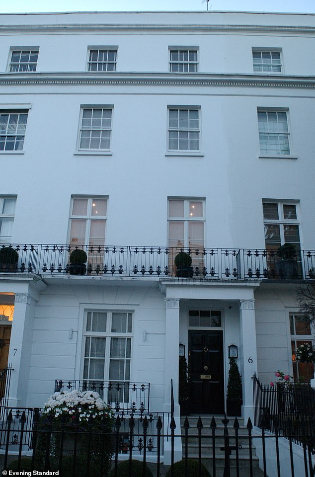 Sir Martin's former homes in Knightsbridge (pictured) is understood to have formed part of his divorce settlement with his first wife lady Sandra