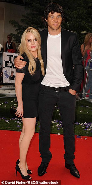 Duffy's father John said there had not been another boyfriend since Wales rugby star Mike Phillips (pictured together in 2010), who she had described as the love of her life and from whom she split in 2011
