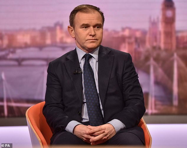 George Eustice (pictured) accused some veteran farmers of 'standing in the way of change' and coasting along on state subsidies