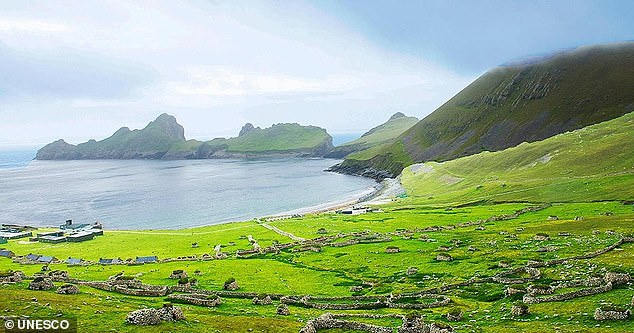 The picturesque St Kilda is the UK's most isolated island, with nobody living on the site permanently for 90 years