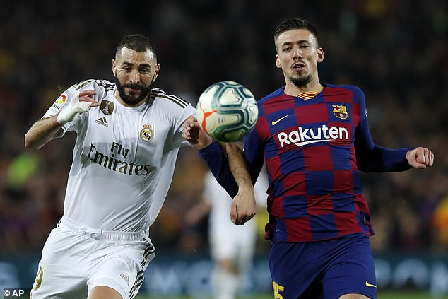 Real Madrid and Barcelona lock horns for the second time in El Clasico this Sunday evening