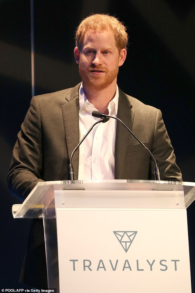 Prince Harry, 35, seen at the Edinburgh summit this week) and Meghan Markle, 38, will help celebrate the achievements of wounded, injured and sick servicemen and women next Thursday, 5th March, in their first appearance since they visited Canada House before announcing their step down from royal duties