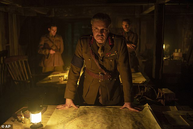 Drama: The war epic tells the true story a British deception operation that helped disguise the 1943 Allied Invasion of Sicily, and Colin (pictured in 1917) is set to play leadEwen Montagu