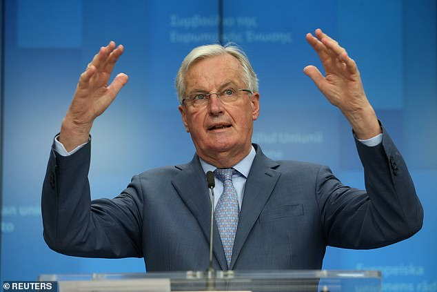 The EU¿s smoothy-chops negotiator Michel Barnier (pictured) may moan that the UK is in closer proximity to the EU but, as Gove pointed out, ¿geography need not undermine democracy¿