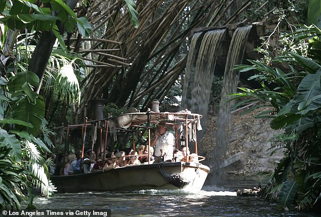 Passengers on board a Jungle Cruise riverboat at World Disney World were forced to evacuate the vessel on Thursday afternoon when it began sinking