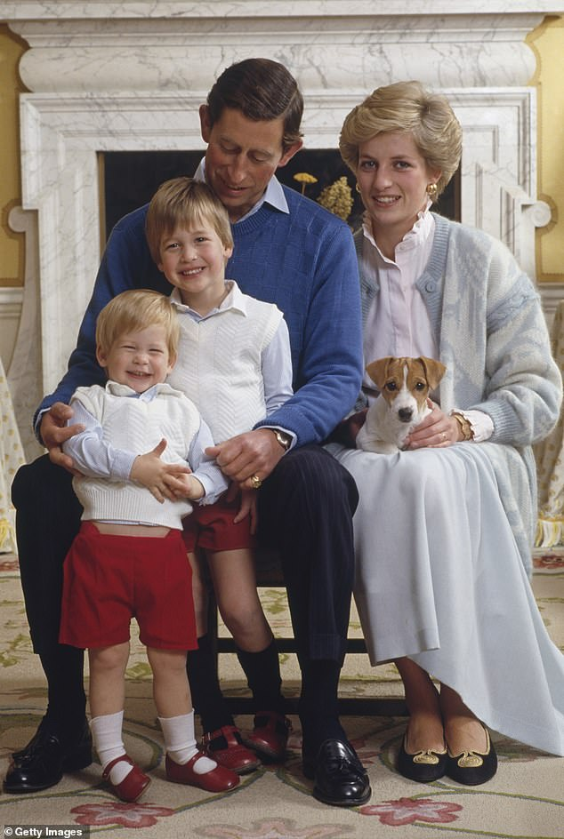 Heartbreak: Like Margaret, Harry was also born second and suffered a devastating loss when his mother, Princess Diana, died when he was just 12 years old
