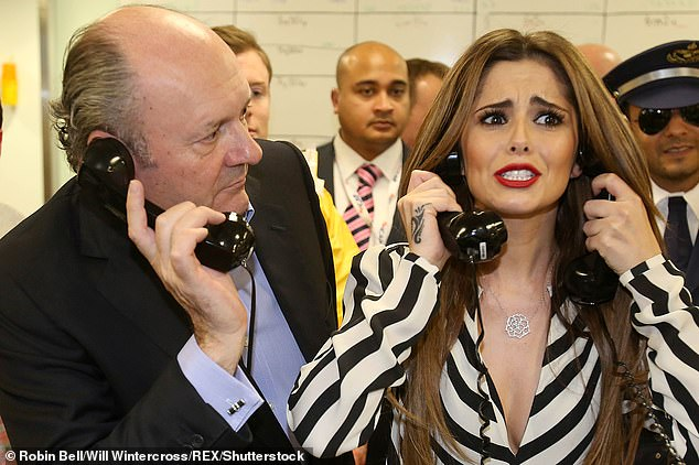 Billionaire financier Michael Spencer was rejected for a peerage in 2016 after being nominated by Mr Cameron. He handed £1,057,250 to the party in the fourth quarter of 2019. He is pictured above with singer Cheryl