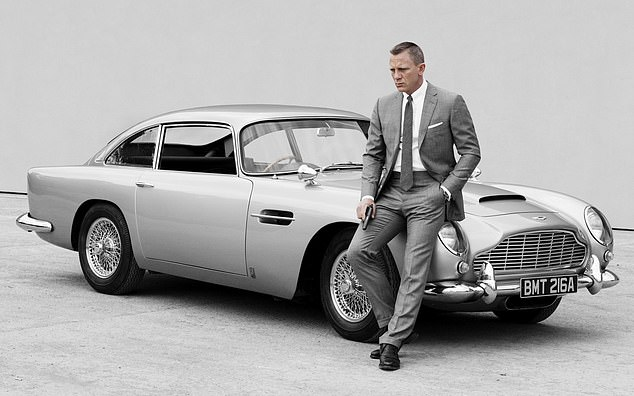 For his safety: Daniel Craig revealed on Thursday that he wasn't allowed to drive James Bond's iconic Aston Martin DB5 during high-speed chase scenes over safety fears