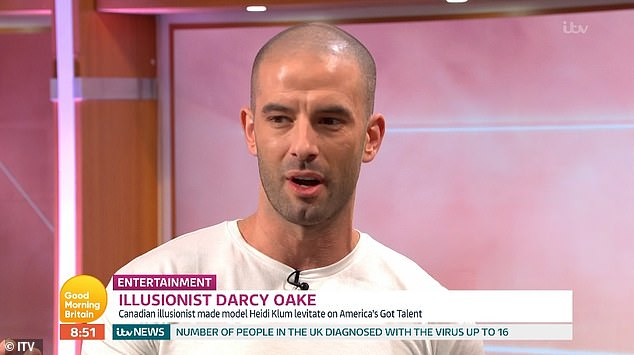 Darcey Oake was tasked with making GMB host Kate Garraway disappear during the live TV segment
