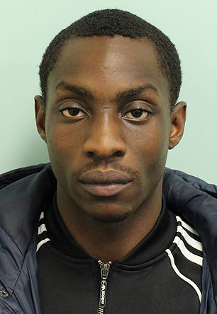 Derrick Fatunbi, 23, who fired a sawn-off shotgun at a police officer who tried to arrest him in Hackney, east London, has been jailed for life