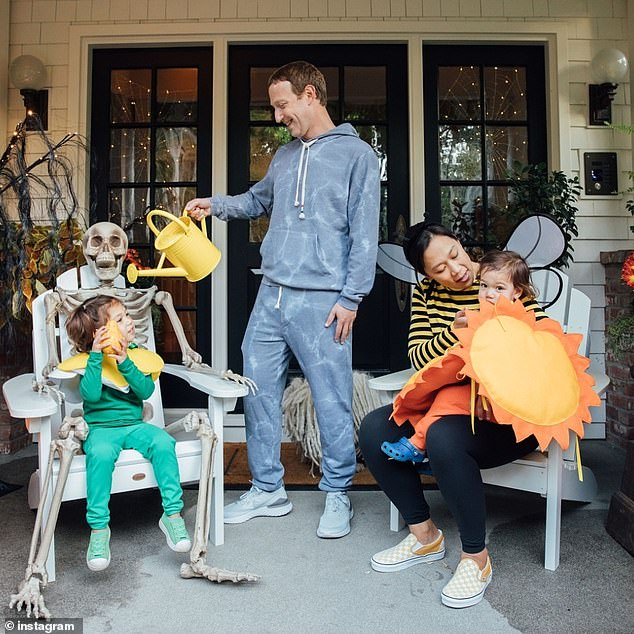Zuckerberg and Chan are notoriously private, and only share curated clips and images of their family life. However, Business Insider alleges their family office has been roiled by various serious allegations of misconduct. The couple and their children are pictured in a 2019 snap