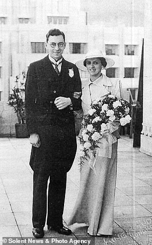 Agnes and Bob were married in Hong Kong in 1937. 'She was just lovely. I wouldn't say she was the most beautiful person in the world because that wouldn't be true, but we got on very, very well,' he says