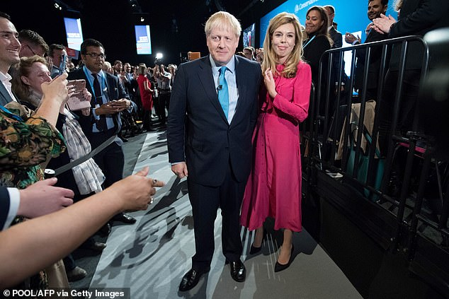 Boris Johnson has become engaged to girlfriend Carrie Symonds and the couple are expecting their first child, Downing Street announced last night