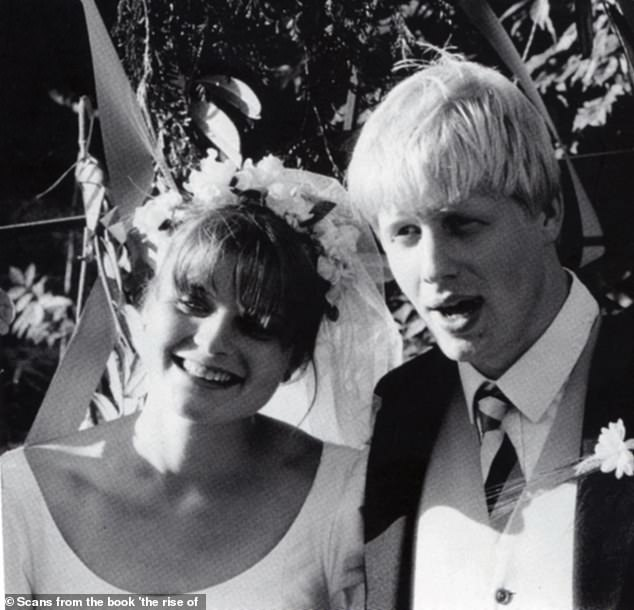 Mr Johnson met his first wife, Allegra Mostyn-Owen, while they were students at Oxford