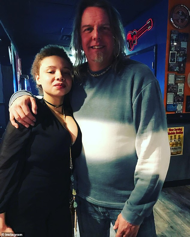 Mikaela Spielberg (left), 23, was arrested by police in Nashville on a domestic violence charge on Saturday morning, her fiance, Chuck Pankow (right), said